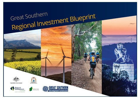 Cover of Great Southern Regional Investment Blueprint