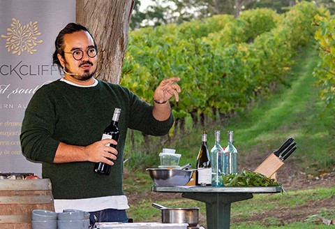 Adam Liaw at Taste Great Southern